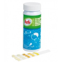 HTH Тестер Br, Cl, pH, щелочность (тестовые полоски, 25 шт.)